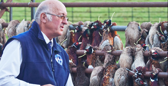 Alan Easterbrook, Gamekeeper